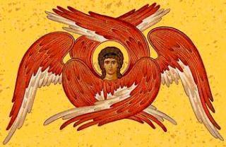 Serafimii cei cu câte șase aripi....